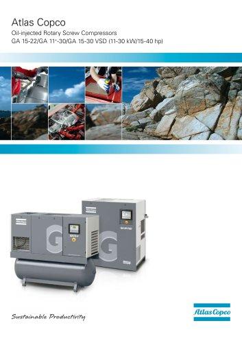 Brochure GA 11+-30/GA 15-30 VSD