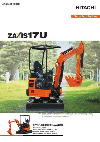 ZAXIS 17U