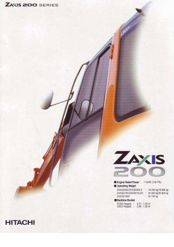 Zaxis 200 series