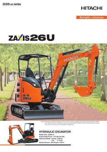 ZAXIS 26U