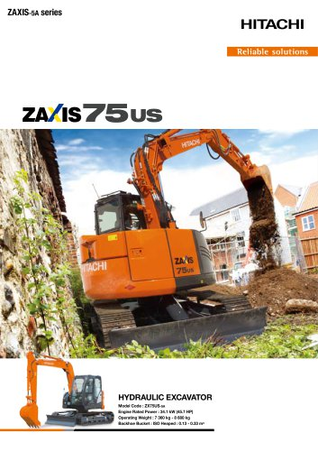 ZAXIS 75US