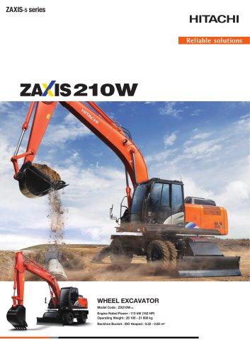 ZX210W-5A - HITACHI Construction Machinery - PDF Catalogs