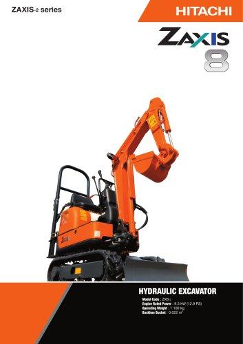 ZX8 Hydraulic excavator
