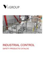 V5 Group SAFETY PRODUCTS CATALOG - 1