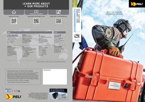 PELI ™ AIR 1465EMS LIGHTWEIGHT EMS CASE