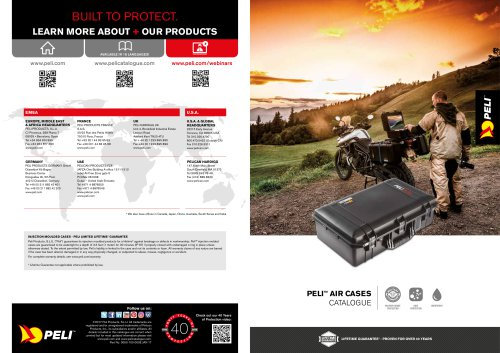 Peli Air Brochure 2017