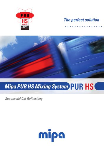 Mipa PUR HS Mixing System