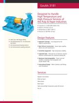 Goulds 3181 High-temperature/Pressure Paper Stock/ Process Pumps - 2