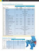 Goulds 3185 Heavy-duty Process Pumps - 12
