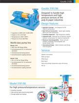 Goulds 3185 Heavy-duty Process Pumps - 17