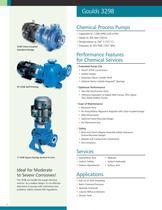 Goulds 3298 Chemical Process Pumps - 2