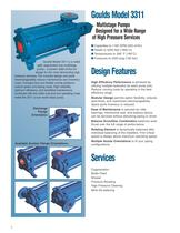 Goulds 3311 High-Pressure Multi-Stage Pumps - 2
