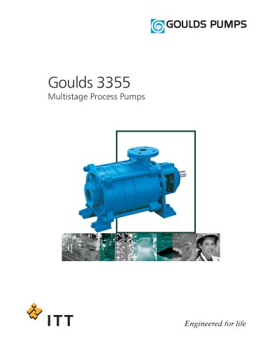 Goulds 3355 Multistage Process Pumps
