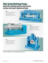Goulds 3355 Multistage Process Pumps - 7