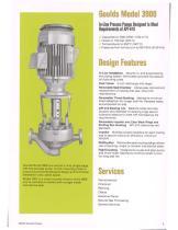 Goulds 3900/3901 API-610 In-Line Process Pumps - 2
