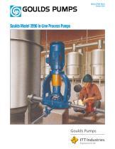 Goulds 3996 In-Line Process Pumps - 1