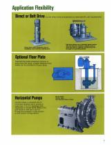 Goulds 5150 / VJC Vertical Cantilever Bottom Suction Pumps - 4