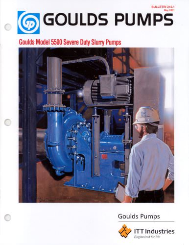 Goulds 5500 Severe Duty Slurry Pumps