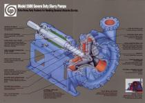 Goulds 5500 Severe Duty Slurry Pumps - 3
