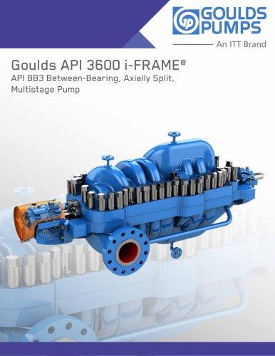 Goulds API 3600 i-FRAME®