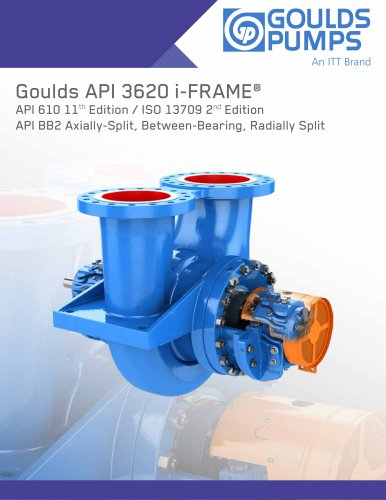 Goulds API 3620 i-FRAME®