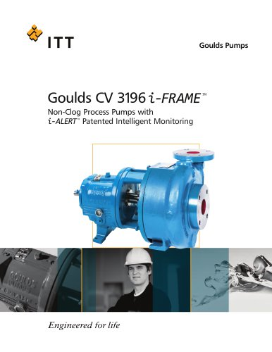 Goulds CV 3196 i-FRAME Non-Clog Process Pumps