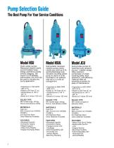 Goulds HSU, HSUL & JCU Submersible Pumps - 2