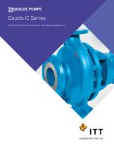 Goulds IC ISO Chemical Process Pumps - 1