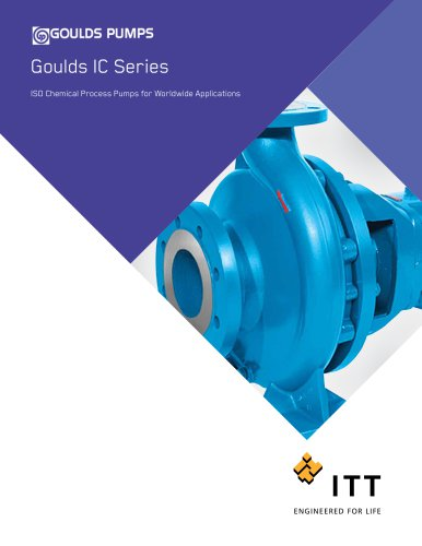 Goulds IC ISO Chemical Process Pumps