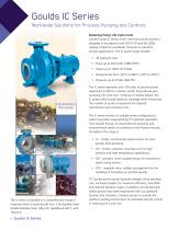 Goulds IC ISO Chemical Process Pumps - 2
