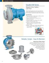 Goulds IC Series ISO Chemical Process Pumps for Worldwide Applications - 13