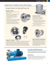 Goulds IC Series ISO Chemical Process Pumps for Worldwide Applications - 14