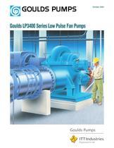 Goulds LP3400 Series Low Pulse Fan Pumps - 1