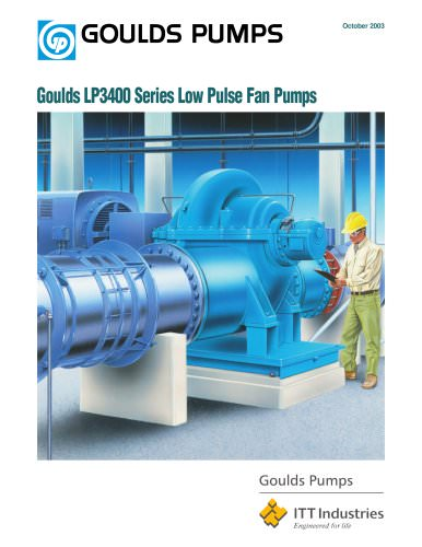 Goulds LP3400 Series Low Pulse Fan Pumps