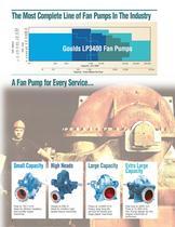 Goulds LP3400 Series Low Pulse Fan Pumps - 4