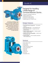 Goulds Model JC Slurry Pump - 2