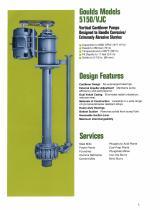 Goulds Models 5150/VJC Vertical Cantilever Bottom Suction Pumps - 2