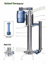 Goulds Models 5150/VJC Vertical Cantilever Bottom Suction Pumps - 6