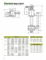 Goulds Models 5150/VJC Vertical Cantilever Bottom Suction Pumps - 8