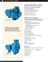 Goulds NM 3196 i-FRAME FRP Process Pumps - 2