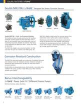 Goulds NM3196 i-FRAME FRP Process Pumps - 4