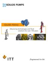 Goulds Pumps History Brochure - 1