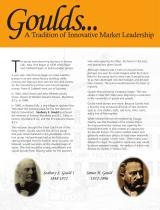 Goulds Pumps History Brochure - 2
