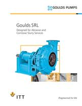 Goulds SRL Designed for Abrasive and Corrosive Slurry Services - 1