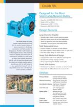 Goulds SRL Designed for Abrasive and Corrosive Slurry Services - 2