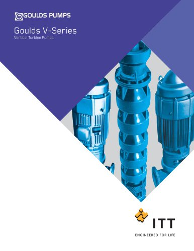 Goulds VIS Vertical Industrial Submersible Pumps
