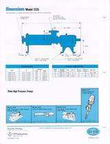 Multi-stage diffuser type pump 3335 - 4
