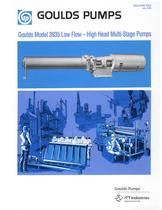 Multi-Stage Diffuser Type Pump 3935 - 1