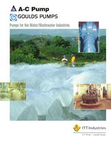Products for the Water and Wastewater Industries - 1