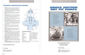 Single Suction Dry Pit Pumps - 1